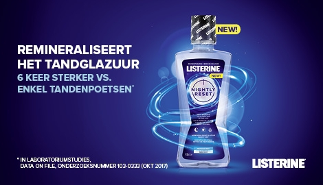 Listerine Nightly Reset Key Visual